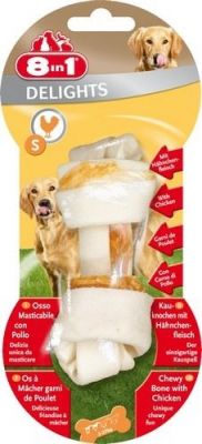 8 in 1 - 8in1 Delight Bones Köpek Ödül Kemiği Small