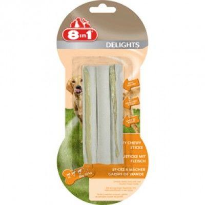 8 in 1 - 8in1 Delights Sticks Köpek Ödül Kemikleri 3 Adet