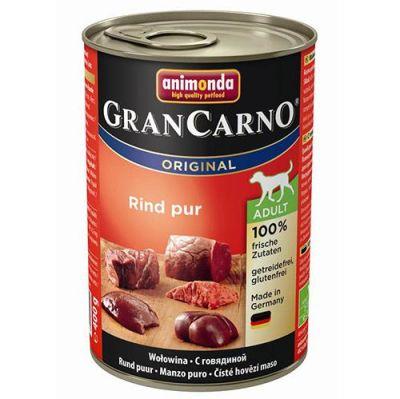 Animonda - Animonda Gran Carno Sığır Etli Köpek Konservesi 400 Gr