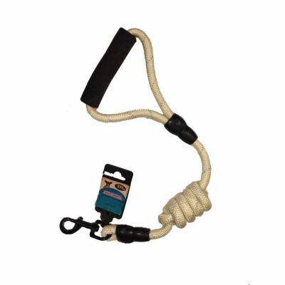 Ans - Ans Uzatılabilir Örme Köpek Gezdirme - 0,8 cm KREM