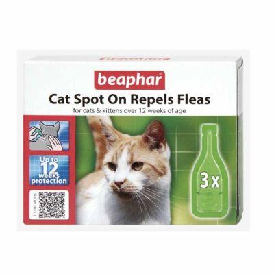 Beaphar - Beaphar Bio Spot On Kedi İçin Pire Damlası 3 Pipet