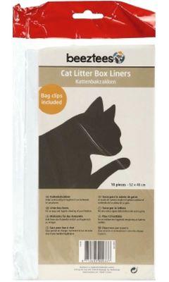 Beeztees - Beeztees Kedi Tuvalet Kabı Poşeti 10 lu