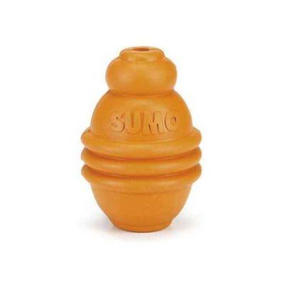 Beeztees - Beeztees Sumo Köpek Oyuncağı Turuncu Small 8 cm