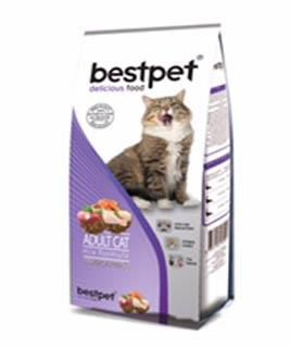 Best Pet - BestPet Karışık Etli Kuru Kedi Maması 1 KG