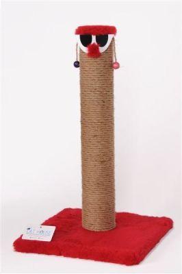 Cat Hause - Cat House Palyaço Kedi Tırmalaması 60 Cm Kahverengi