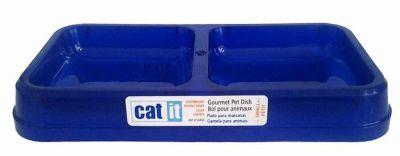 Catit - Catit İki Gözlü Plastik Mama ve Su Kabı