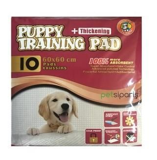 Hushpet - Diapers Hushpet Puppy Training Pedi 60X60 cm 10'lu