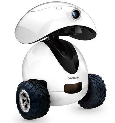 Dogness - Dogness Smart IPET Robot Akıllı Kedi Köpek Arkadaşı Beyaz
