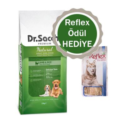 Dr.Sacchi - Dr.Sacchi Premium Natural Kuzu Etli Yetişkin Köpek Maması15kg