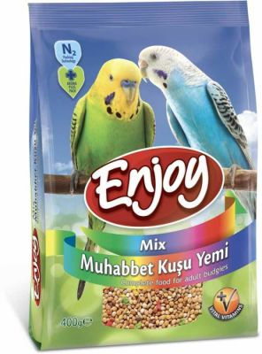 Enjoy - Enjoy Muhabbet Kuşu Yemi Vital Vitamin Mix 400 Gr