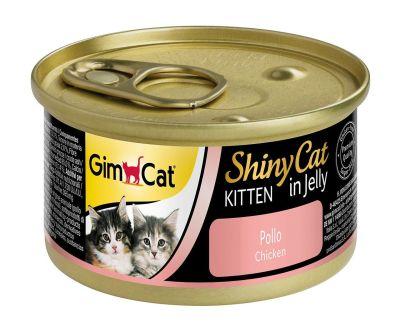 Gimcat - Gimcat Shinycat Tavuklu Yavru Kedi Konservesi 70 Gr