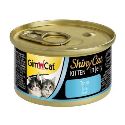 Gimcat - Gimcat Shinycat Yavru Kedi Konservesi Tuna balıklı 70gr