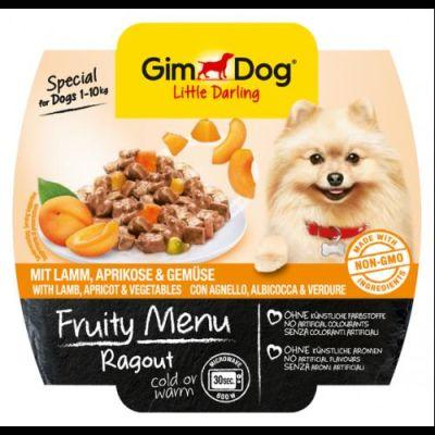 Gimdog - Gimdog Fruity Kuzu Kayısı Sebzeli Köpek Konservesi 100gr