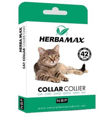 Herba Max - Herba Max Kedi Pire ve Dış Parazit Kene Tasması 42 Cm