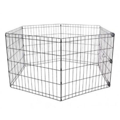 Miapet - Miapet Kedi ve Köpekler İçin Panel Çit 61x61Cm 6 Parça