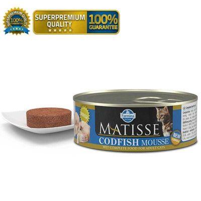 Matisse - Matisse Mousse Morina Balıklı Kedi Konservesi 300 Gr