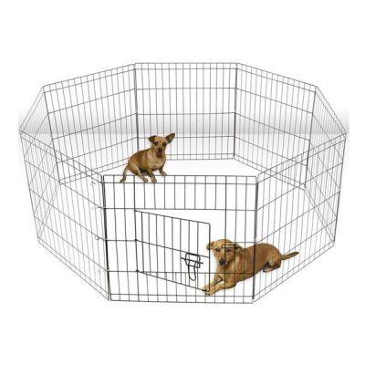 Miapet - Miapet Kedi ve Köpekler İçin Panel Çit 61x61Cm 8 Parça