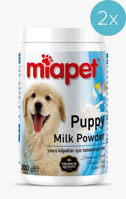 Miapet - Miapet Kutulu Puppy Milk Powder Yavru Köpek Süt Tozu 200 Gr 2'Lİ