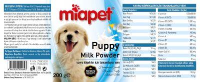 Miapet - Miapet Kutulu Puppy Milk Powder Yavru Köpek Süt Tozu 200 Gr 2'Lİ (1)