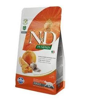 N&D - N&D Balkabaklı Ringa Balıklı Portakallı Yetişkin Kedi Maması 1.5 Kg