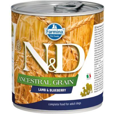 N&D - N&D Düşük Tahıllı Kuzulu Köpek Konserve Maması 285 gr