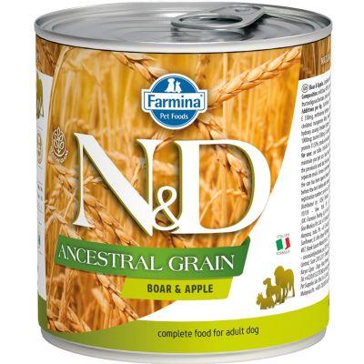 N&D - N&D Düşük Tahıllı Yaban Domuzlu Köpek Konserve Maması 285 gr