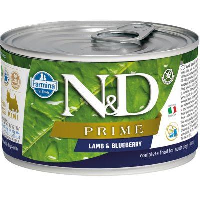 N&D - N&D Prime Kuzulu Yaban Mersinli Köpek Konservesi 140 gr