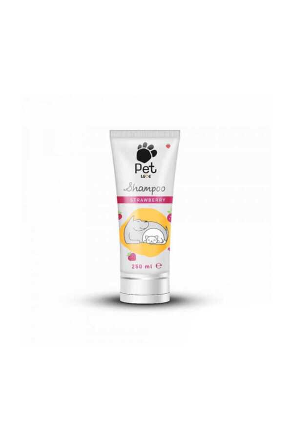 Pet Love Strawberry Tüp Kedi Köpek Şampuanı 250 Ml