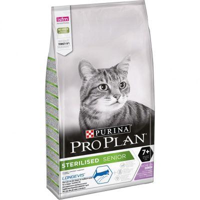 ProPlan - ProPlan Kısırlaştırılmış Hindili +7 Yaşlı Kedi Maması 3 Kg