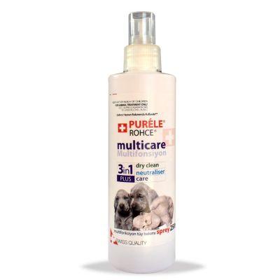 Purele - Purele Multicare 3in1 Kedi Köpek Tüy Bakım Spreyi 600 ml