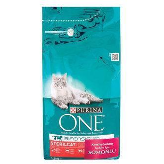 Purina - Purina One Somonlu Kısırlaştırılmış Kedi Maması 1,5 KG