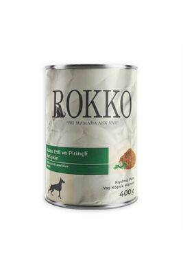 Chef′s Choise - Rokko Kıyılmış Kuzu Etli Yetişkin Köpek Konservesi 400 Gr