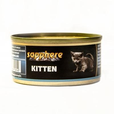 Sapphere - Sapphere Yavru Kedi Konservesi 80 Gr