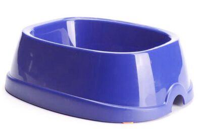 Savic - Savic Brunch 4 Köpek Plastik Mama ve Su Kabı 1700 ml Lacivert