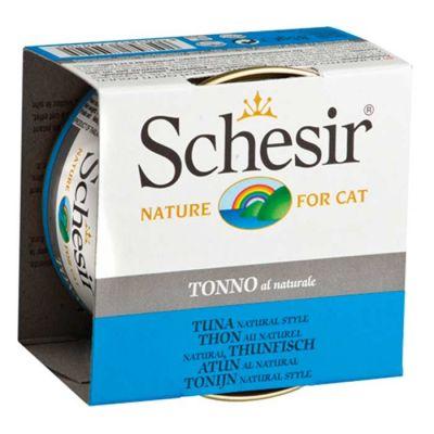 Schesir - Schesir Ton Balıklı Soslu Kedi Konservesi 85 Gr