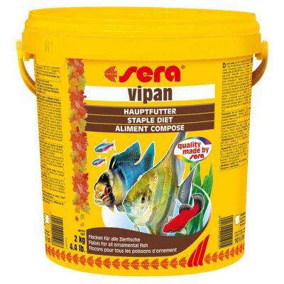 Sera - Sera Vipan Pul Balık Yemi 10000 ml - 2 Kg