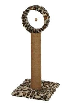 Cat Hause - Star Çemberli Kedi Tırmalama Leopar