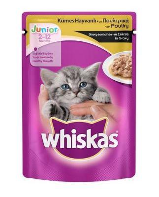 Whiskas - Whiskas Tavuklu Yavru Kedi Pouch 100 Gr